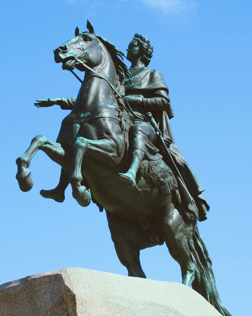Медный Всадник — Памятник Петру I