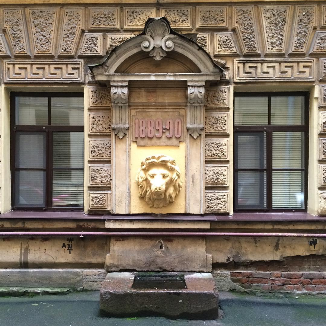 Доходный дом Елисеевых фонтан