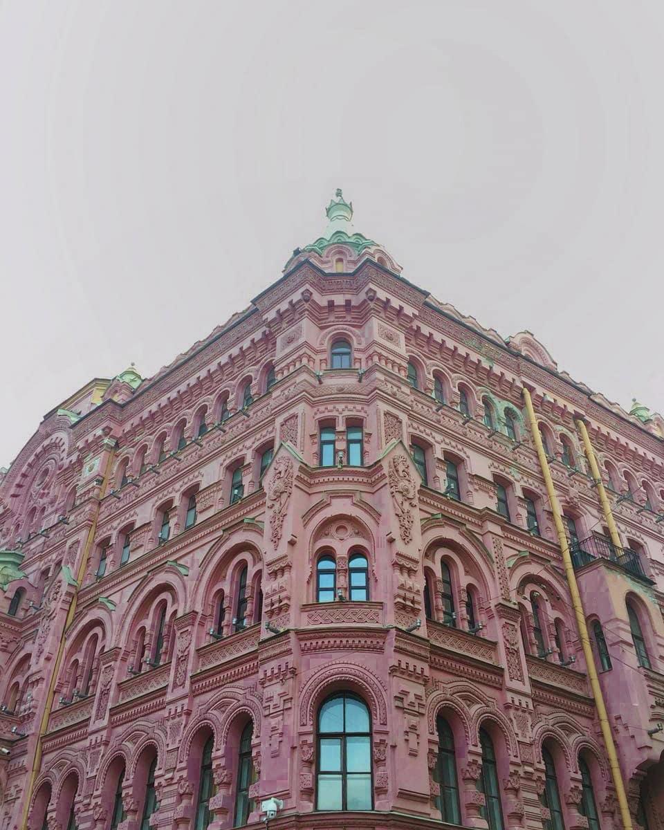 Доходный дом Басина в СПб