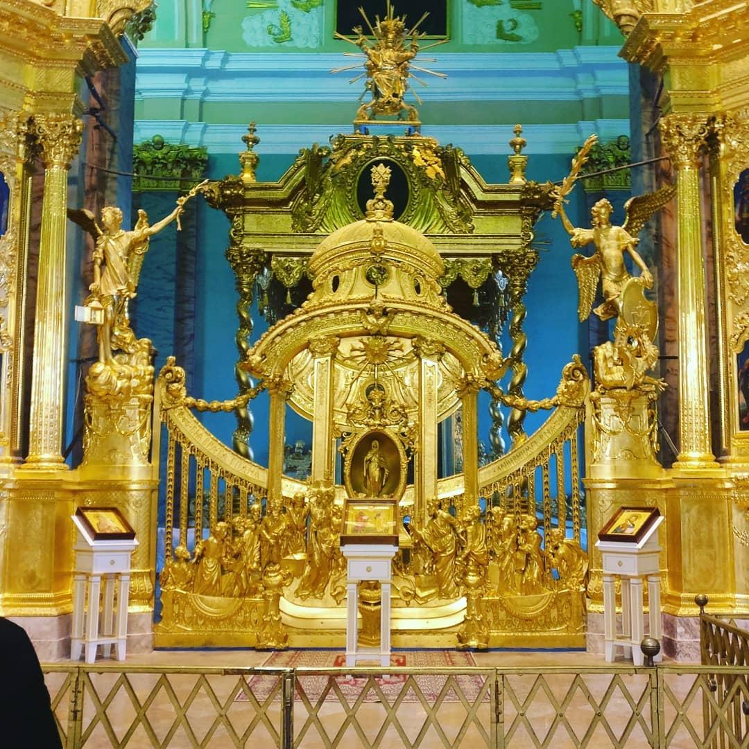 усыпальница Петропавловского собора
