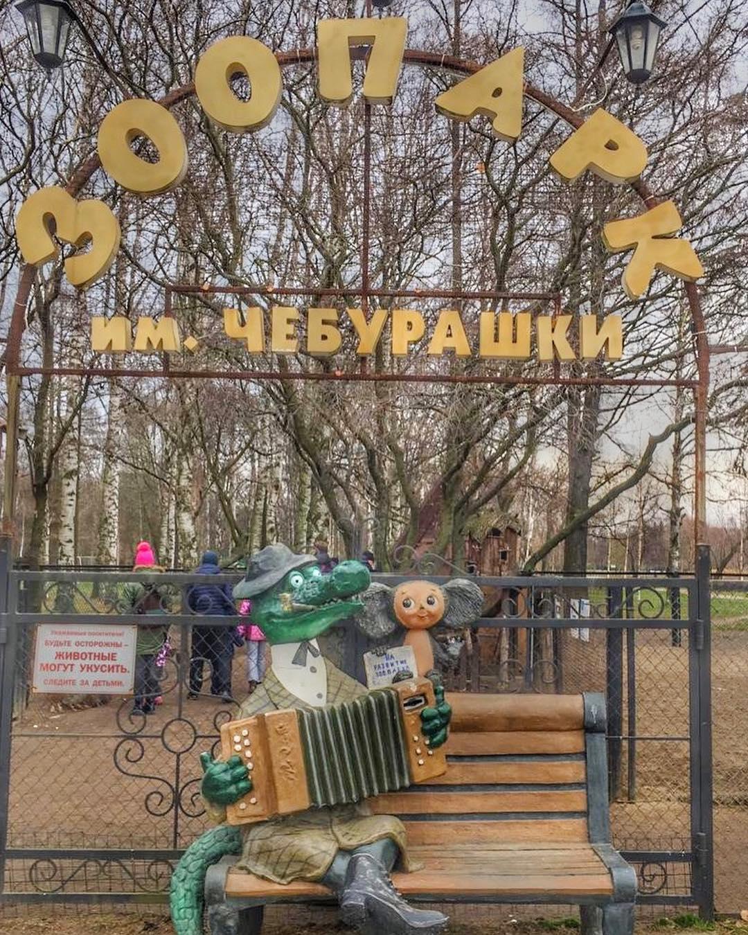 Зоопарк имени Чебурашки