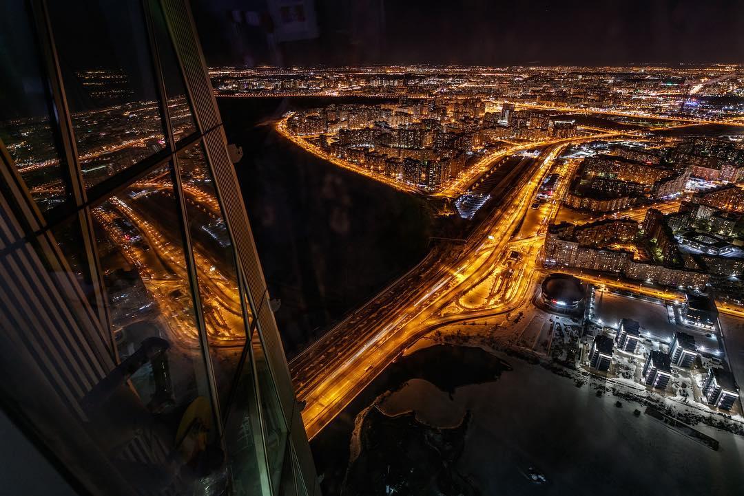 Ночной Петербург фото