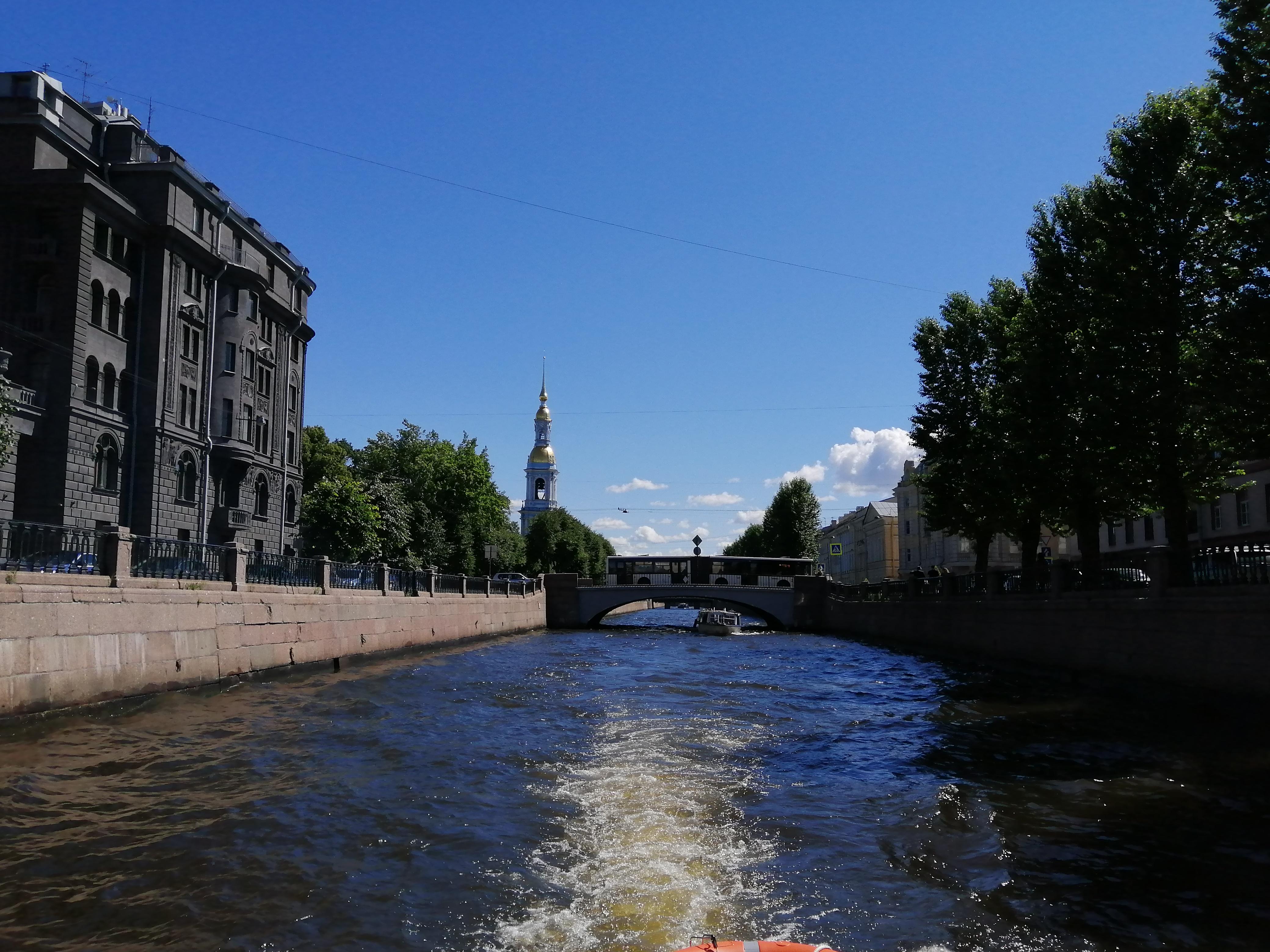 Ультрамаринового короля дом с крюкова канала вид
