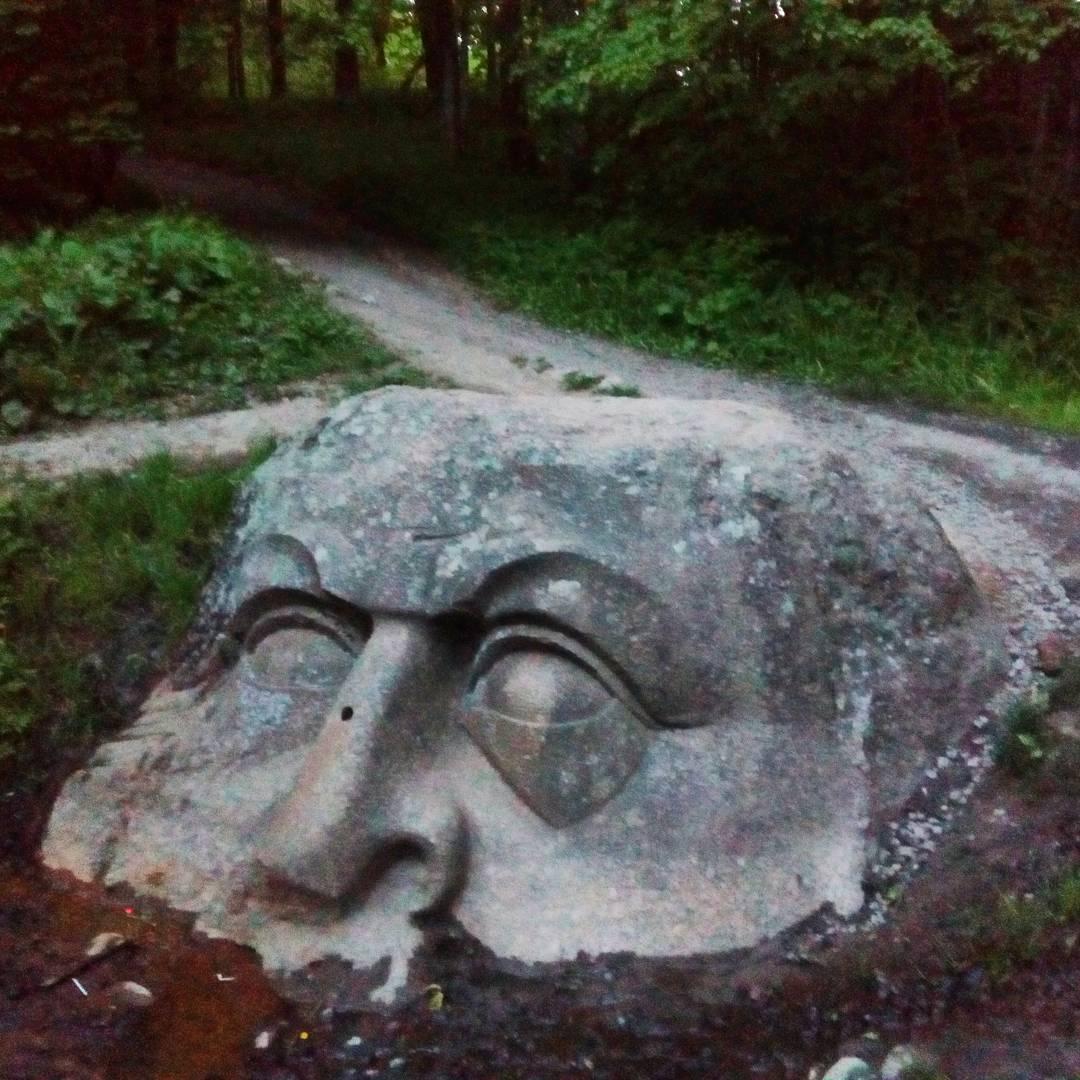 Каменная голова