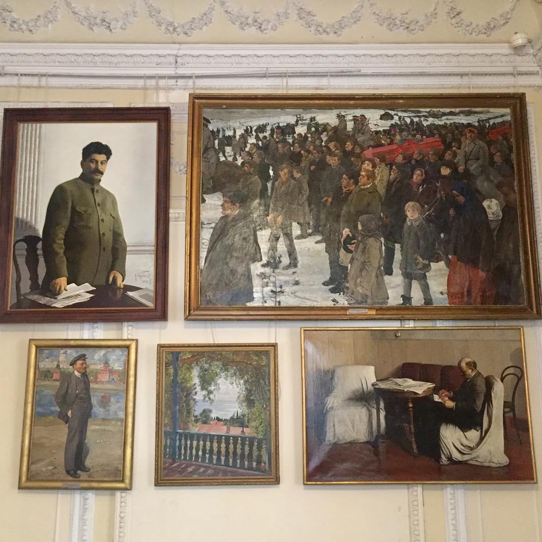 Картины И. И. Бродского