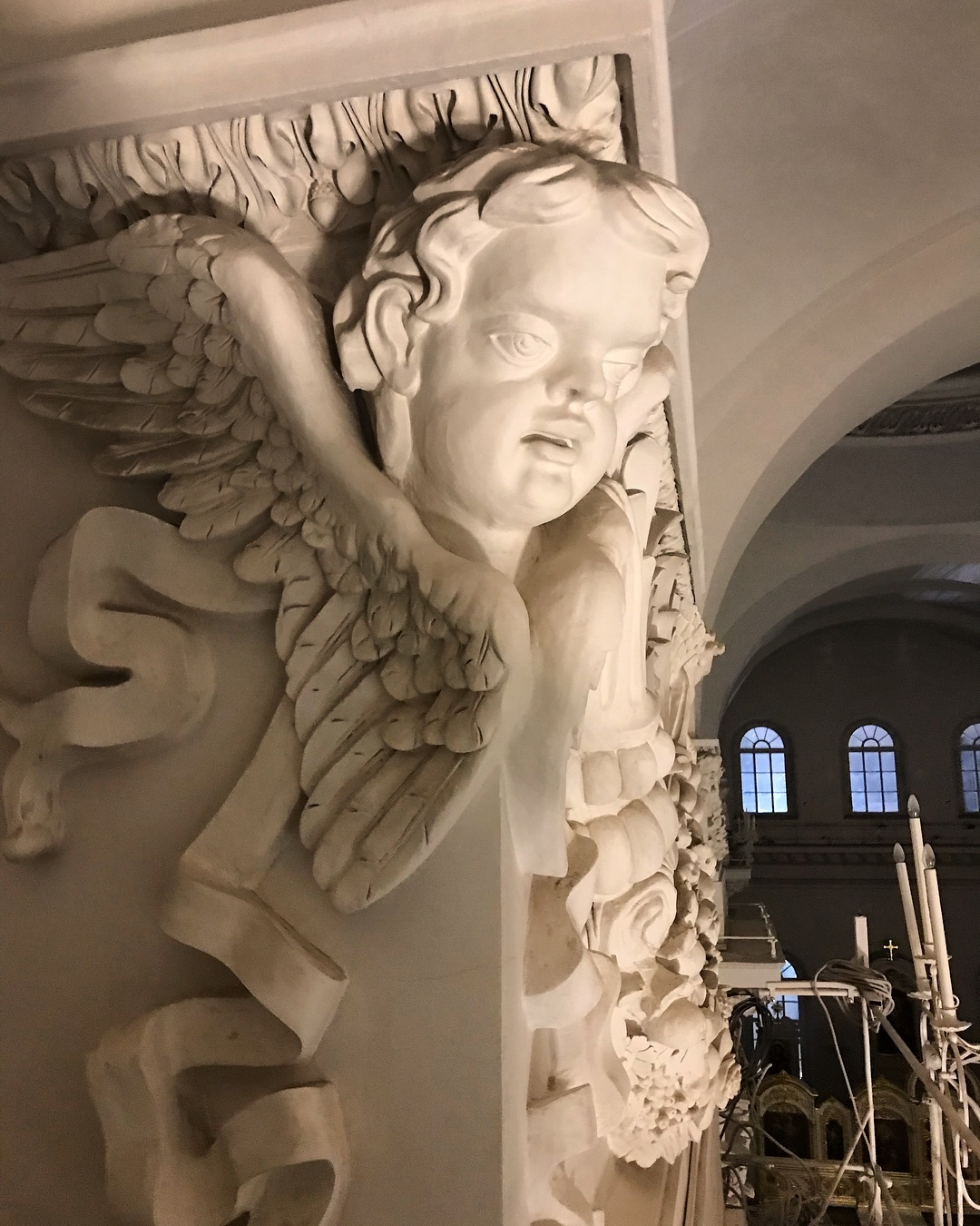 Внутреннее убранство Смольного собора