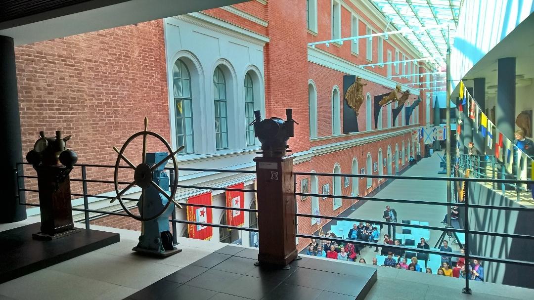 Экскурсии в Военно-морской музей СПБ