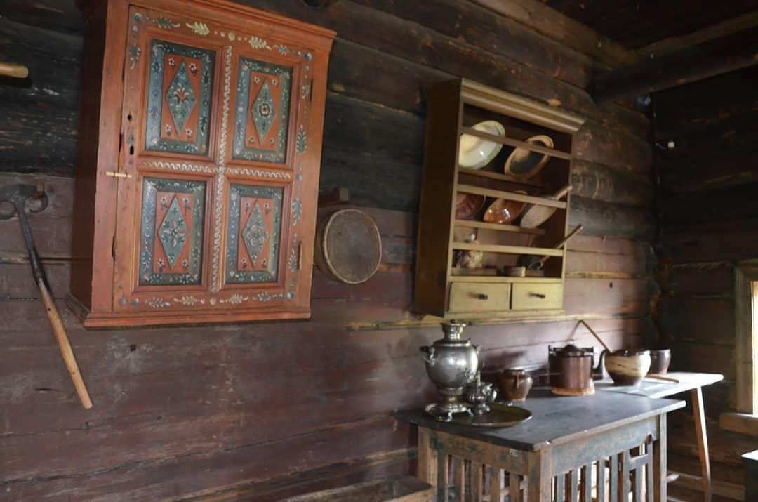 Дома заонежских крестьян