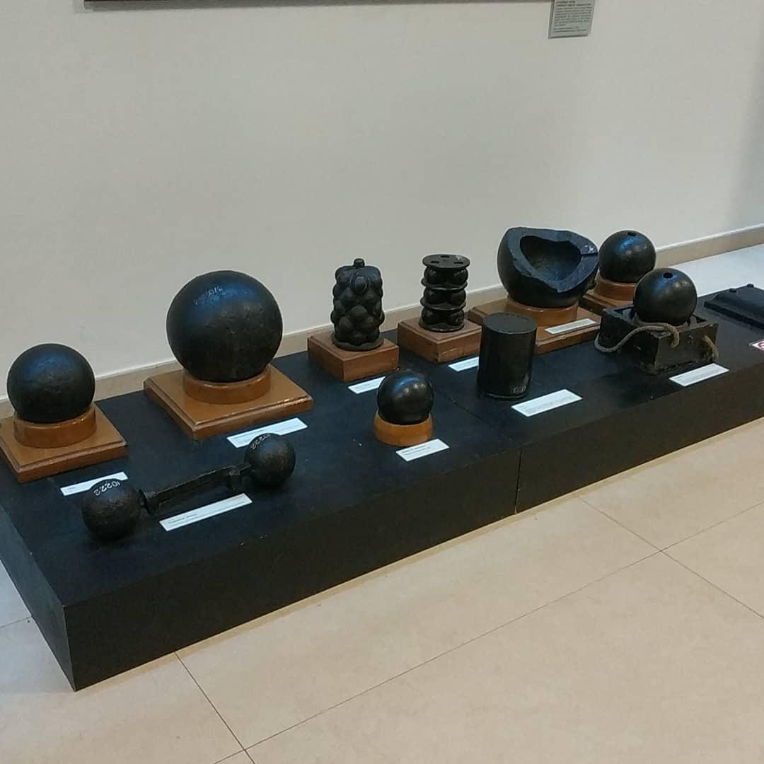Экспозиция Военно-морского музея