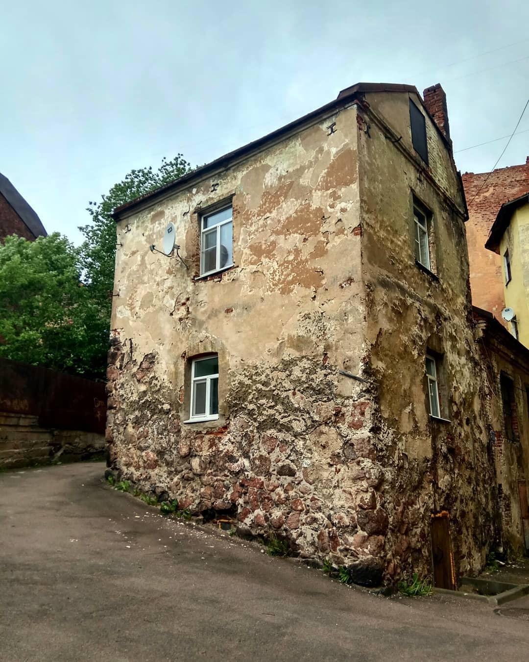 Старинные дома Выборга