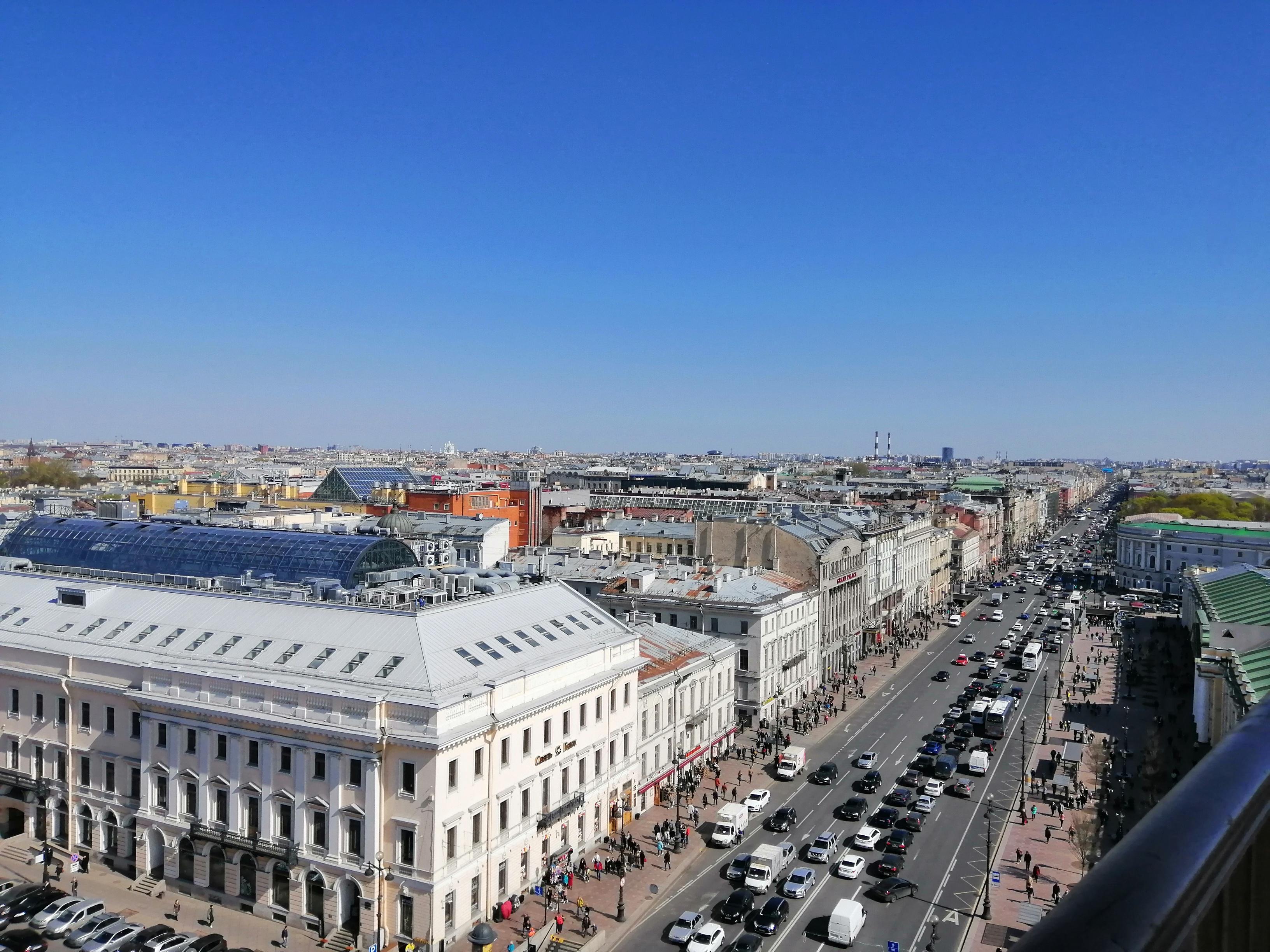 Вид с Думской башни