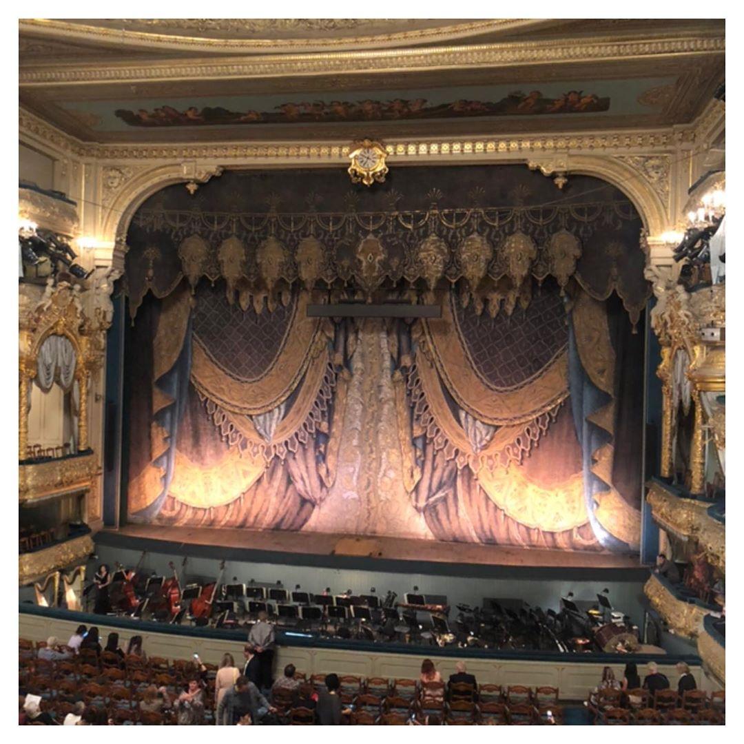 Зал Мариинского театра