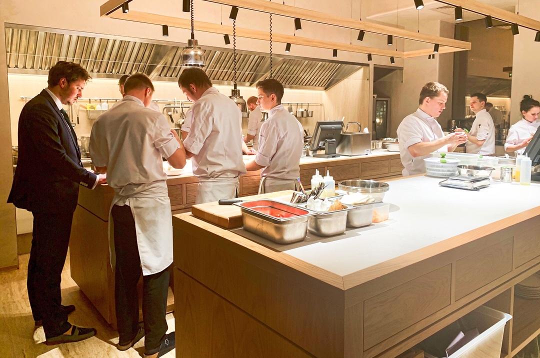 Открытая кухня Harvest