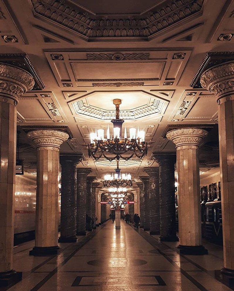 Станция метро Автово в Санкт-Петербурге