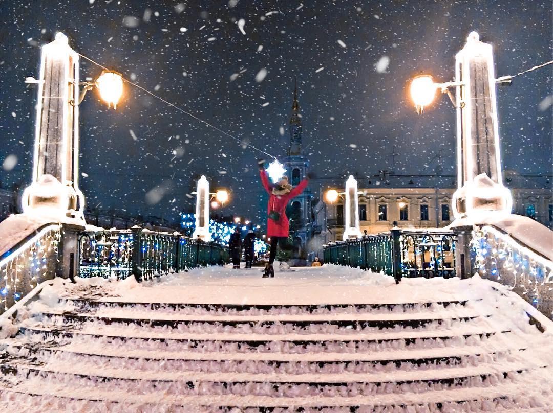 Новогодние праздники в Санкт-Петербурге