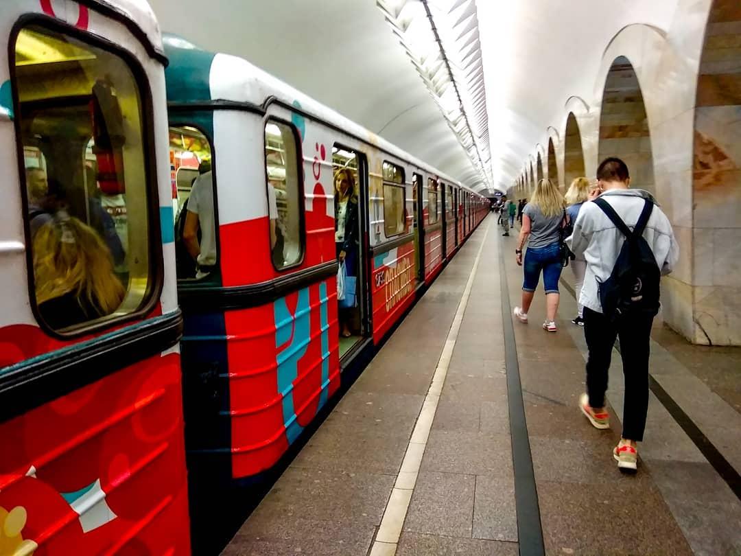 В Пулково на метро