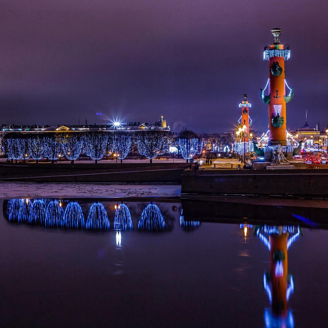 Новогодние мероприятия в Петербурге