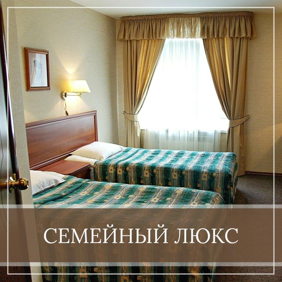 Семейный люкс в отеле Ладога