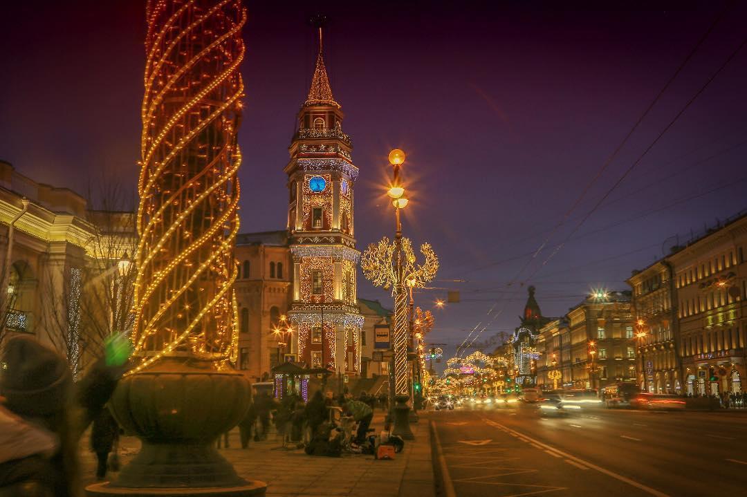 Новогодние каникулы в Питере