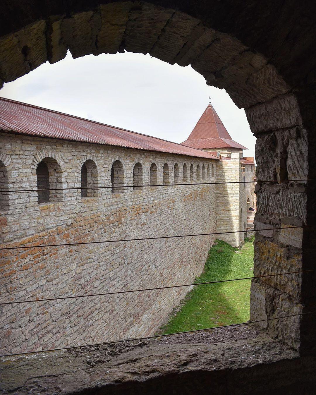 Внутри крепости Орешек