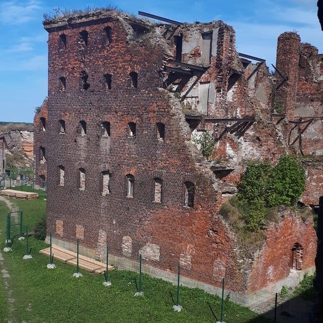 На территории шлиссельбургской крепости