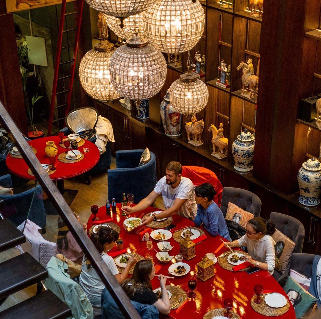 Интерьер ресторана Китайская грамота
