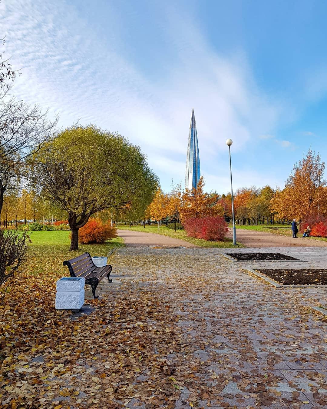 1. Парк 300-летия Санкт-Петербурга
