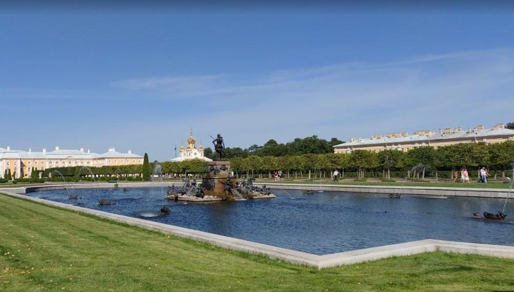 фонтаны Верхнего сада