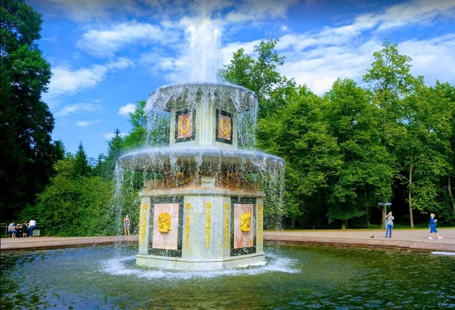 Петергоф Римский фонтан