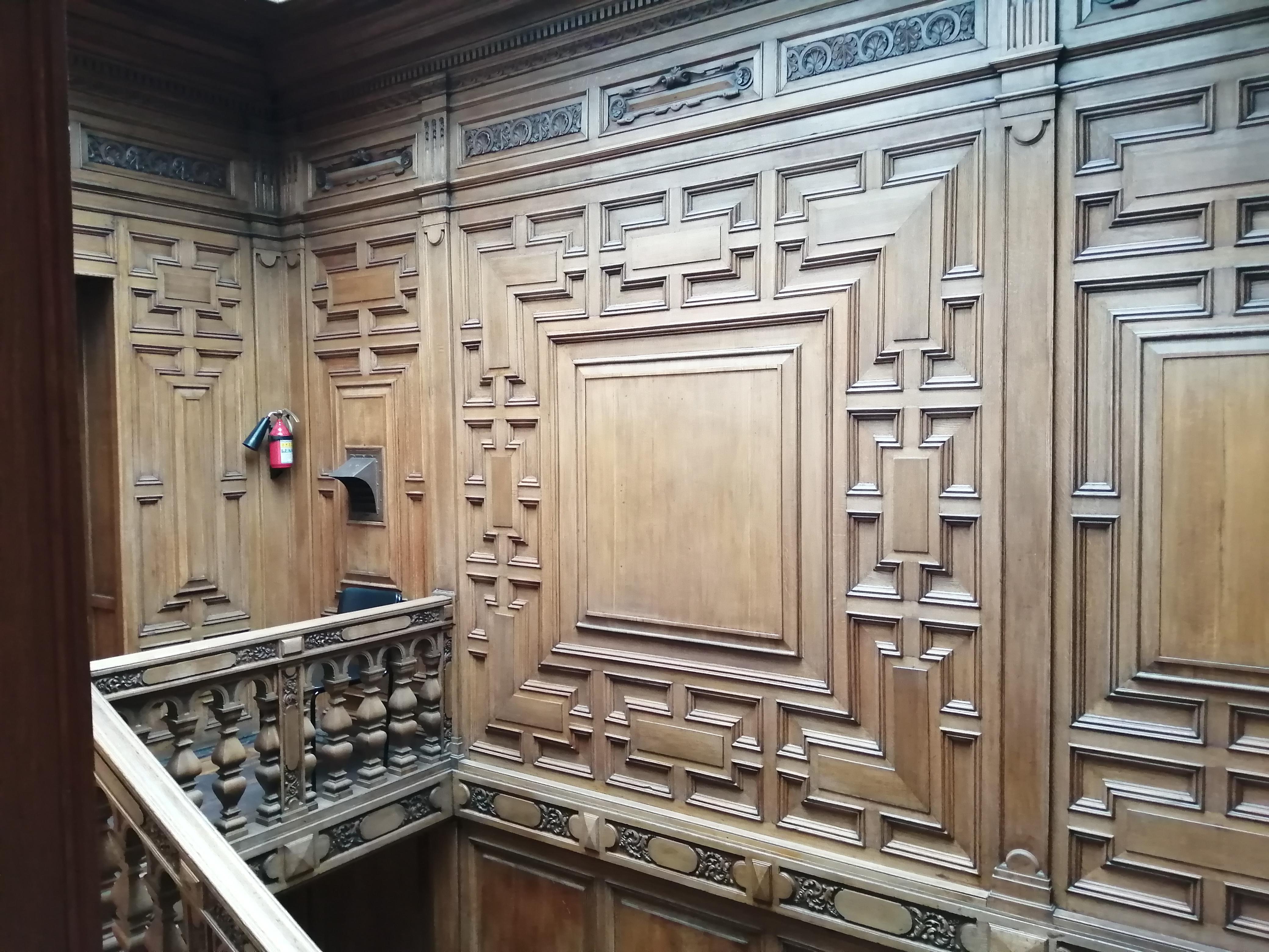 Внутренняя отделка особняка Румянцева