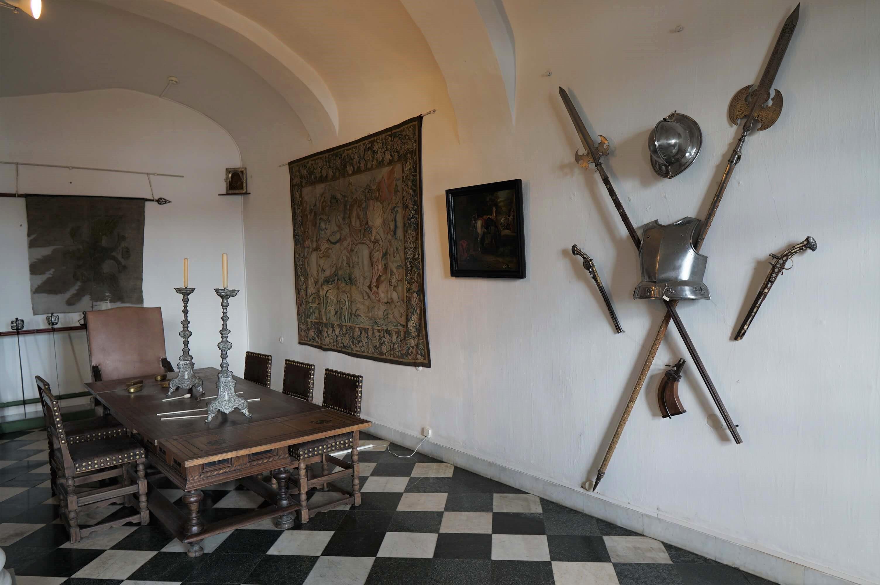 Кордегардия в меншиковском дворце