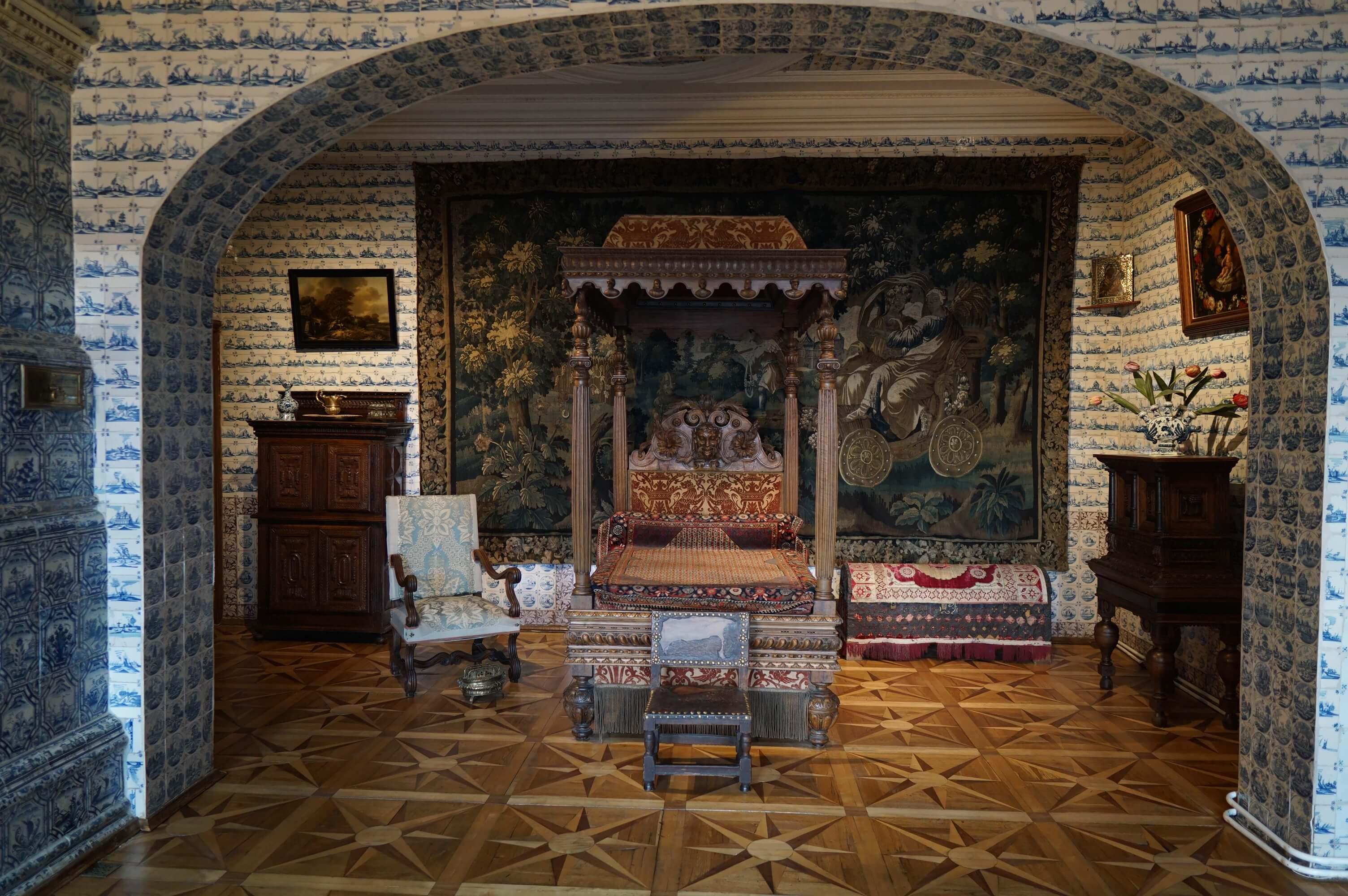 Личные покои в Меншиковском дворце