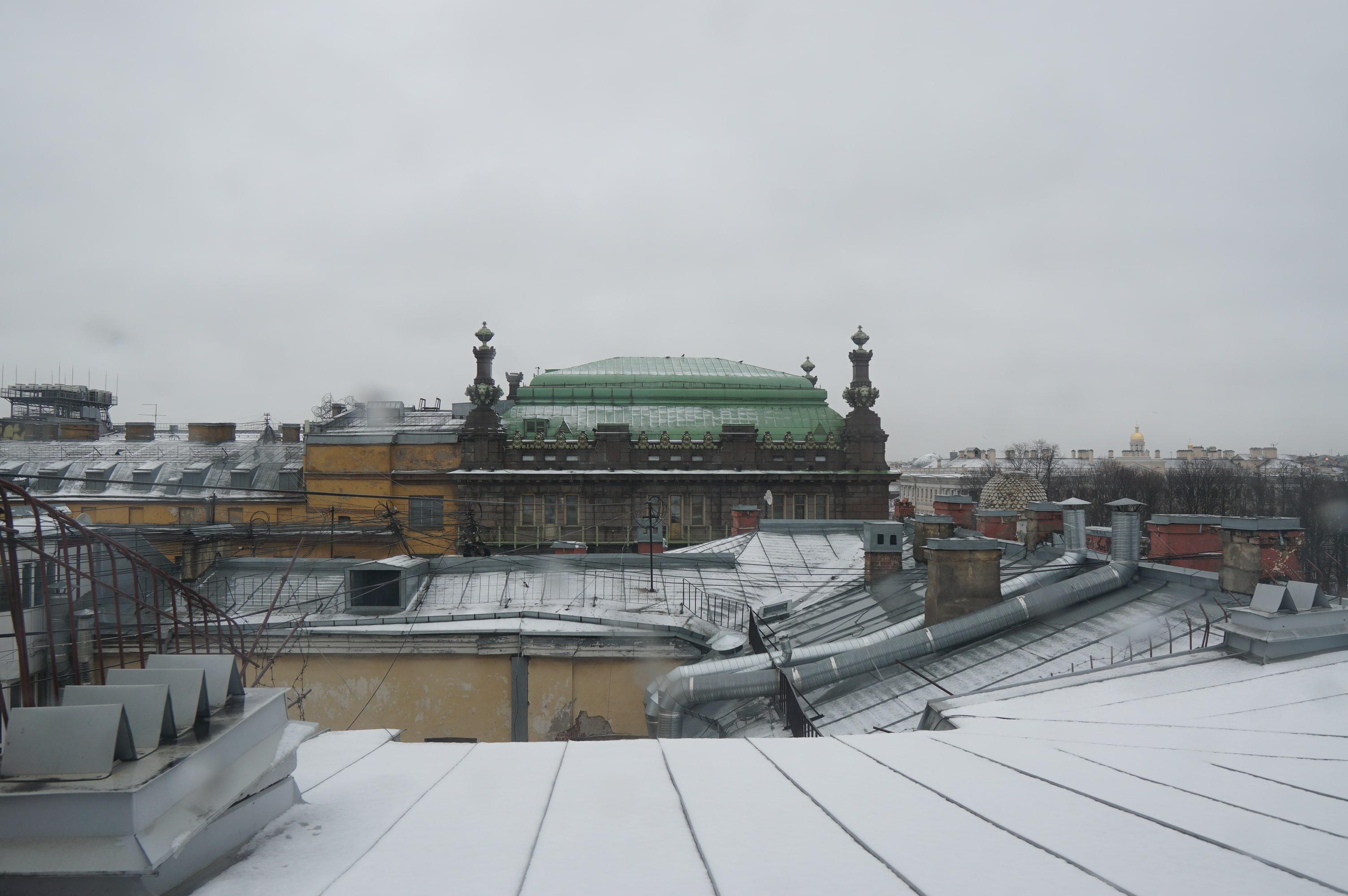 Вид из Музея Карла Буллы