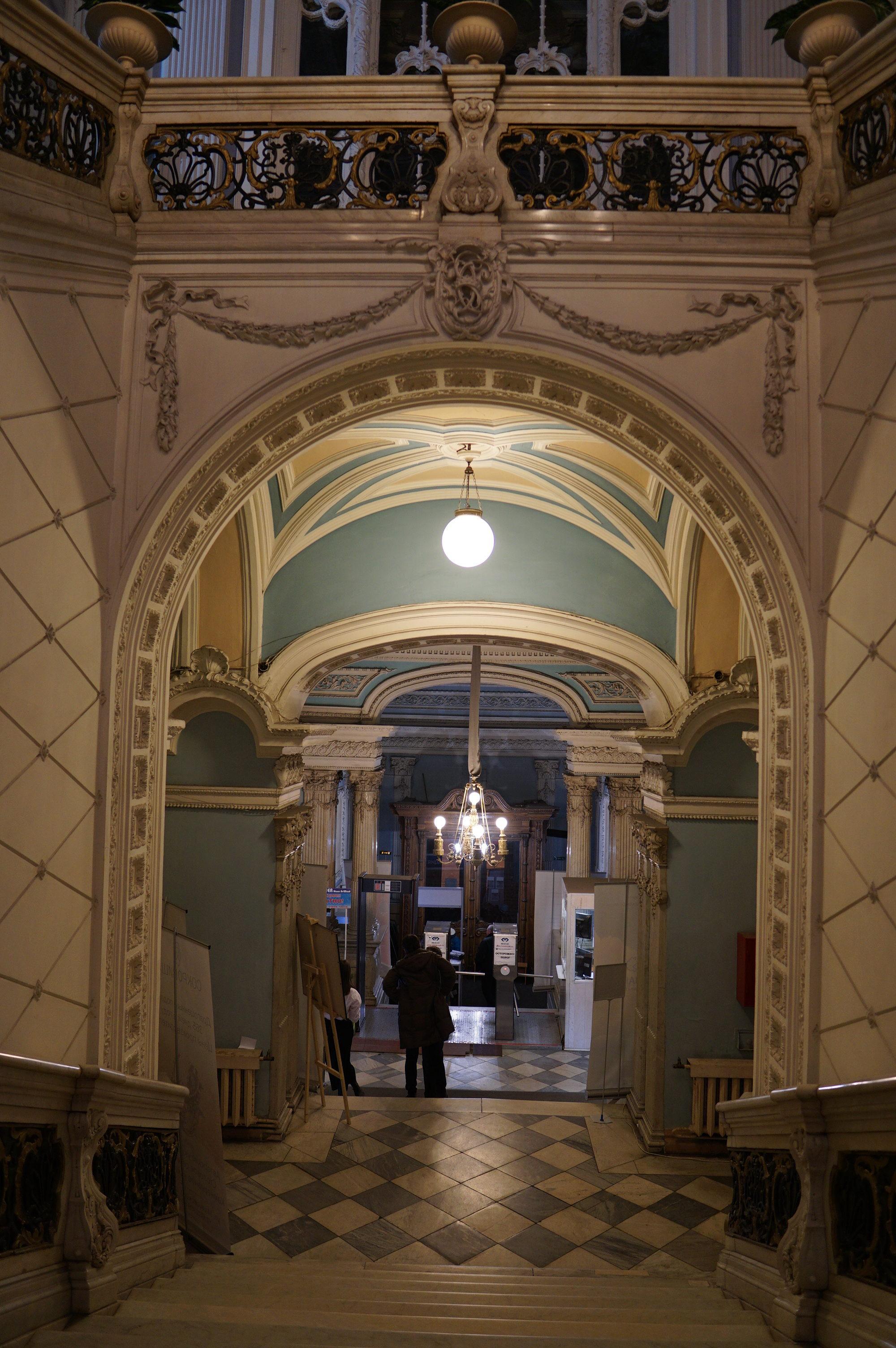 Оформление парадных залов литейного особняка